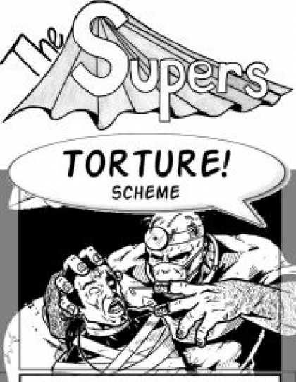 Role Playing Games - The Supers Card Game - #2 The Bad!