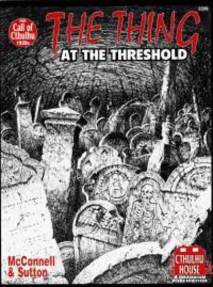 Role Playing Games - The Thing at the Threshold
