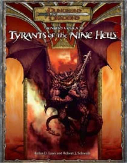 Role Playing Games - Fiendish Codex II: Tyrants of the Nine Hells