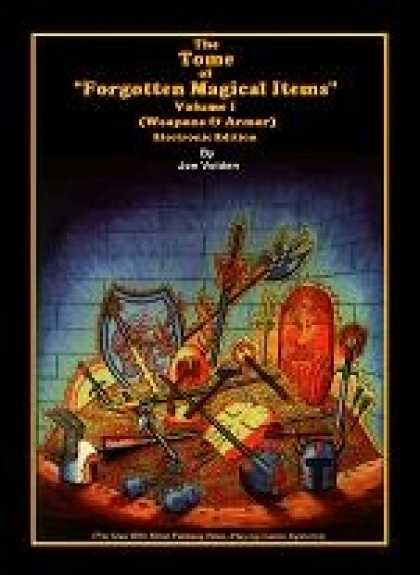 Role Playing Games - Forgotten Magical Items Volume I (1000+ Magic Weapons & Armor)