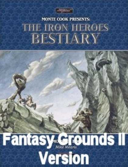 Role Playing Games - Iron Heroes Bestiary for Fantasy Grounds II