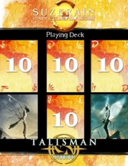 Role Playing Games - Suzerain Playing Deck