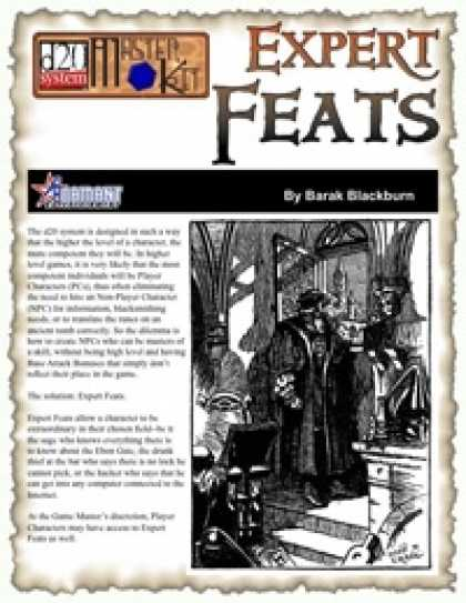 Role Playing Games - Expert Feats