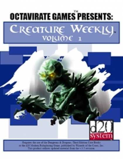 Role Playing Games - Creature Weekly Volume 1