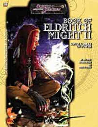 Role Playing Games - Book of Eldritch Might II: Songs and Souls of Power