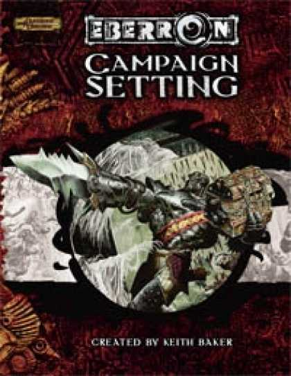 Role Playing Games - Eberron Campaign Setting