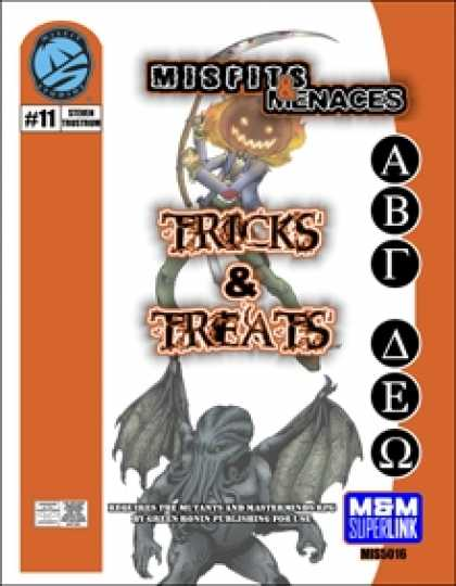 Role Playing Games - Misfits & Menaces: Tricks & Treats