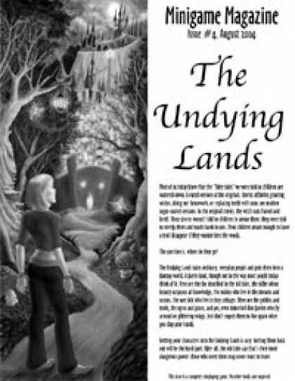 Role Playing Games - The Undying Lands (Minigame issue #4)