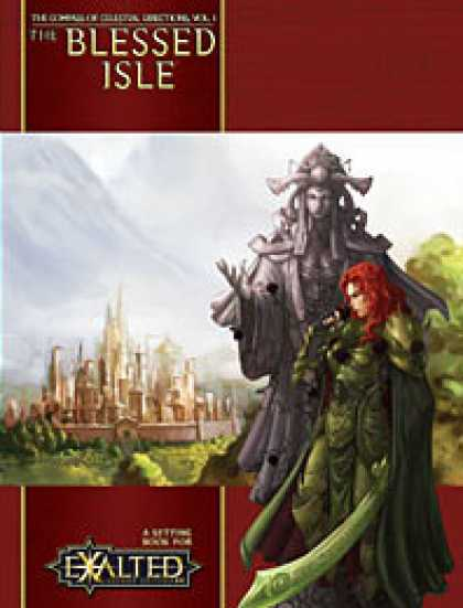 Role Playing Games - Compass of Celestial Directions Vol.1: The Blessed Isle