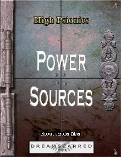 Role Playing Games - High Psionics: Power Sources