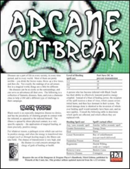 Role Playing Games - Arcane Outbreak