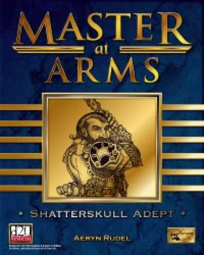 Role Playing Games - Master at Arms: Shatterskull Adept