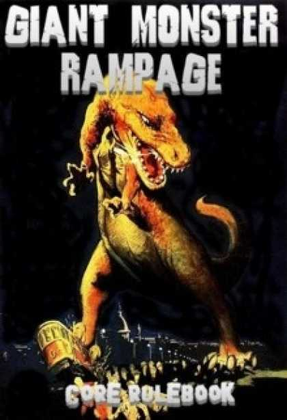 Role Playing Games - Giant Monster Rampage 3rd Edition