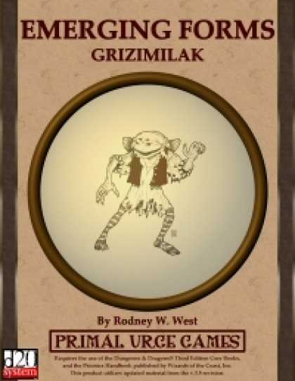 Role Playing Games - Emerging Forms - Grizimilak