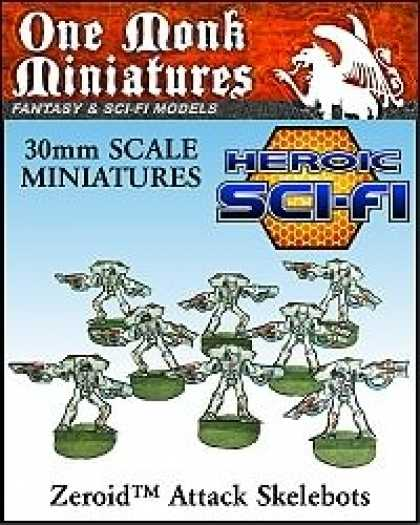 Role Playing Games - Heroic Sci-Fi Attack Skelebots