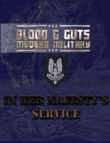 Role Playing Games - Blood and Guts 2: In Her Majesty's Service