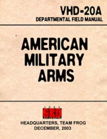 Role Playing Games - American Military Arms