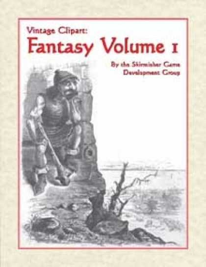 Role Playing Games - Vintage Clipart: Fantasy Volume 1