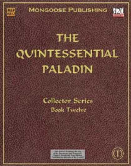 Role Playing Games - The Quintessential Paladin