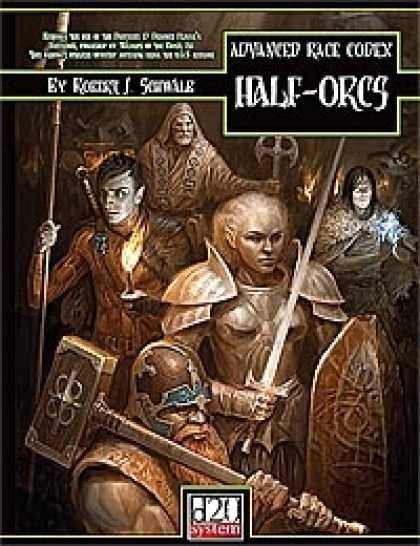 Role Playing Games - Advanced Race Codex: Half-Orcs