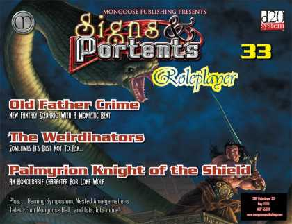 Role Playing Games - Signs & Portents Roleplayer 33