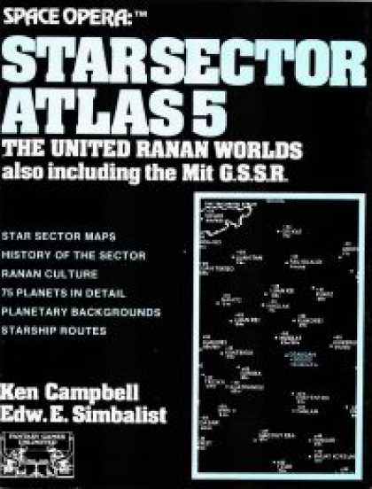 Role Playing Games - Space Opera: Star Sector Atlas 5: United Ranan Worlds