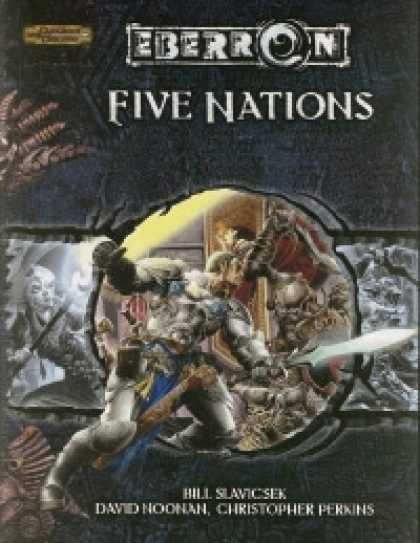 Role Playing Games - Eberron: Five Nations