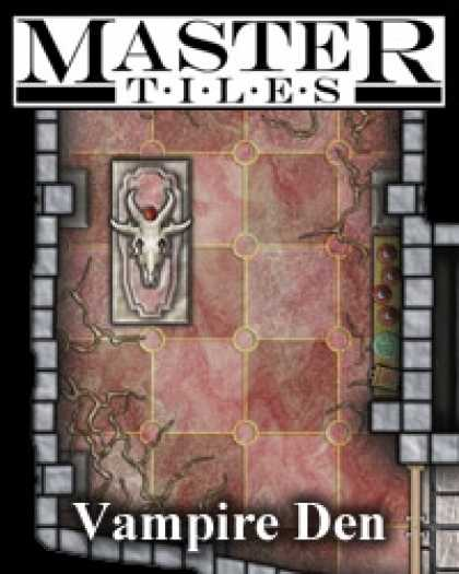 Role Playing Games - Master Tiles No.1 - Vampire Den