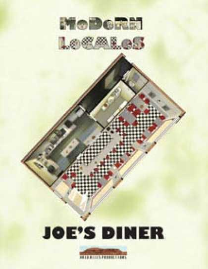 Role Playing Games - Modern Locales: Joe's Diner