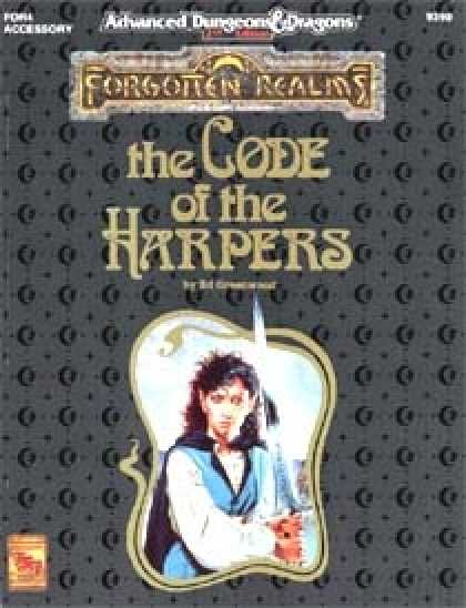 Role Playing Games - The Code of the Harpers