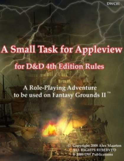 Role Playing Games - A Small Task for Appleview D&D 4th edition for Fantasy Grounds II