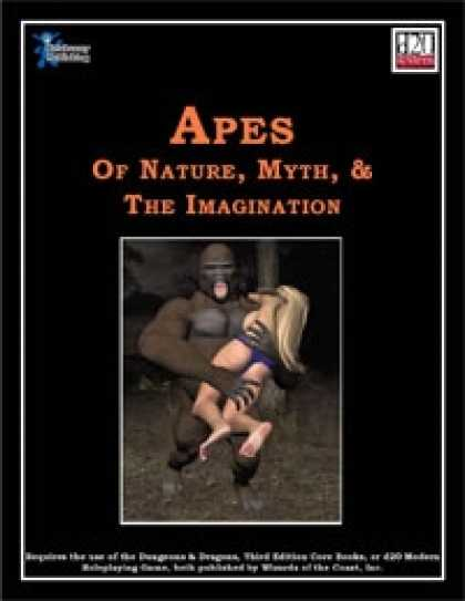 Role Playing Games - Apes of Nature, Myth, & the Imagination