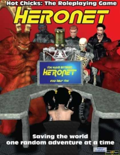 Role Playing Games - HERONET for Hot Chicks: The RPG