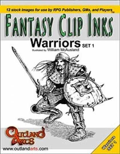 Role Playing Games - Fantasy Clip Inks :: Warriors set 1