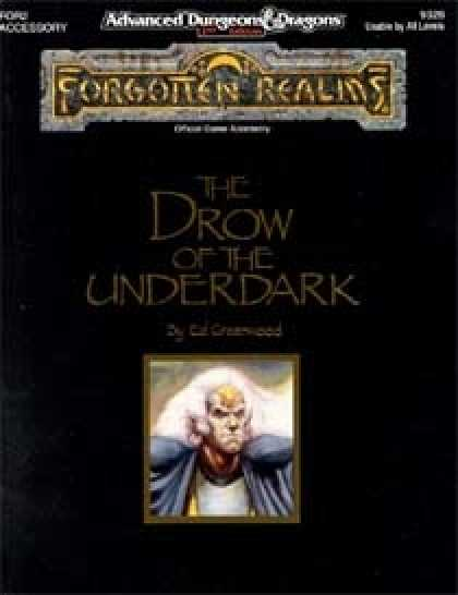 Role Playing Games - The Drow of the Underdark