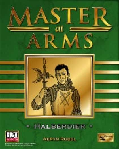 Role Playing Games - Master at Arms: Halberdier