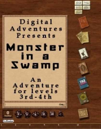 Role Playing Games - Monster in a Swamp Fantasy Grounds II Adventure