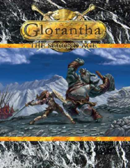 Role Playing Games - Glorantha: The Second Age