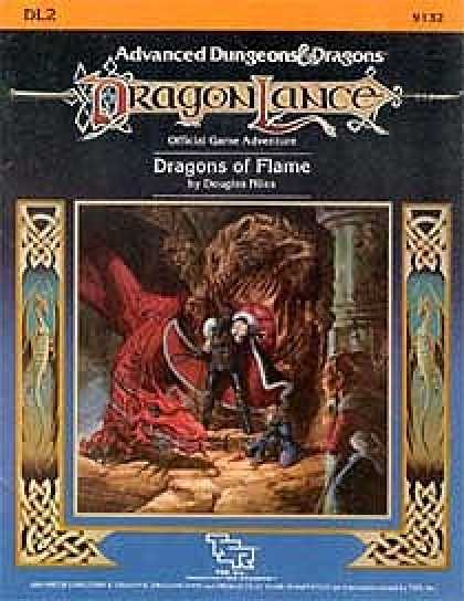 Role Playing Games - Dragons of Flame