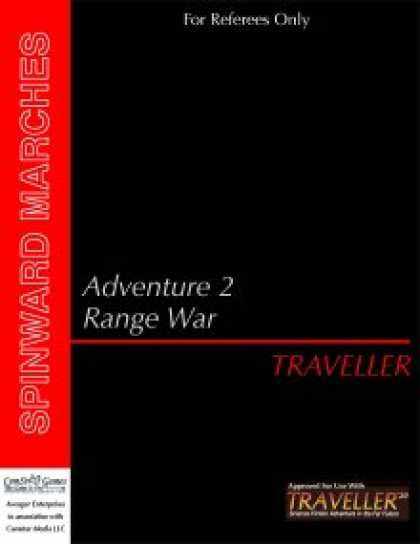 Role Playing Games - Traveller - Adventure 2: Range War