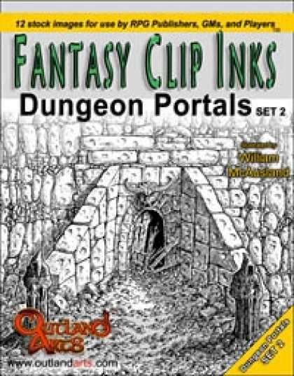 Role Playing Games - Fantasy Clip Inks:: Dungeon Portals set 2