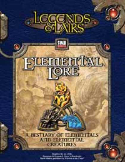Role Playing Games - Elemental Lore