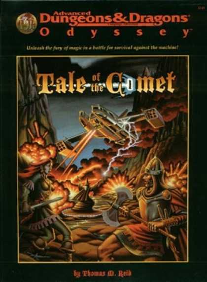 Role Playing Games - Tales of the Comet, Campaign Expansion, boxed set