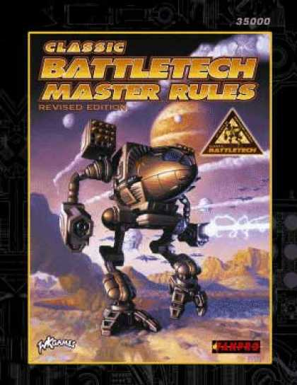 Role Playing Games - BattleTech Master Rules, Revised