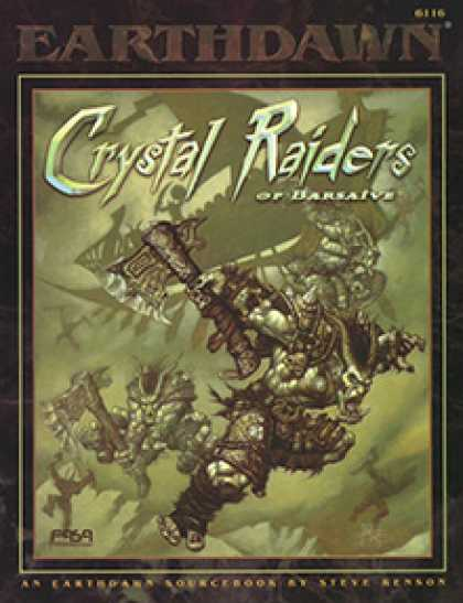 Role Playing Games - Crystal Raiders of Barsaive