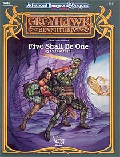 Role Playing Games - Five Shall Be One