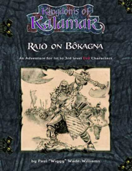 Role Playing Games - Raid on Bokagna