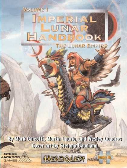Role Playing Games - HeroQuest: ILH1 - Imperial Lunar Handbook v1