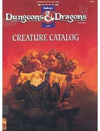 Role Playing Games - D&D Creature Catalog