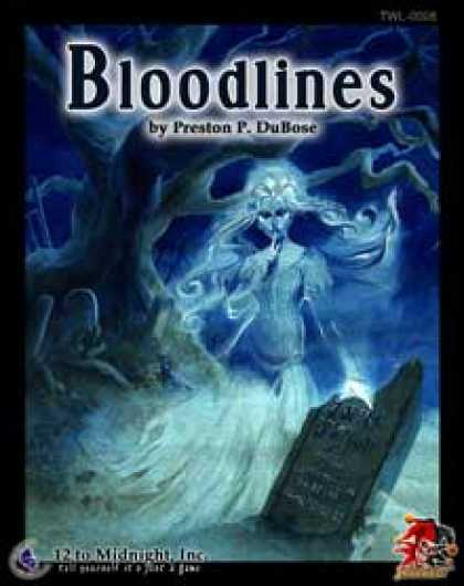 Role Playing Games - Bloodlines: Savaged edition